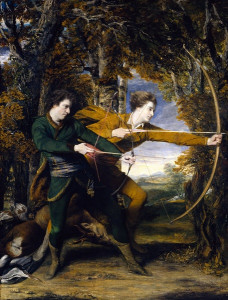 Sir-Joshua-Reynolds-Colonel-Acland-and-Lord-Sydney-The-Archers